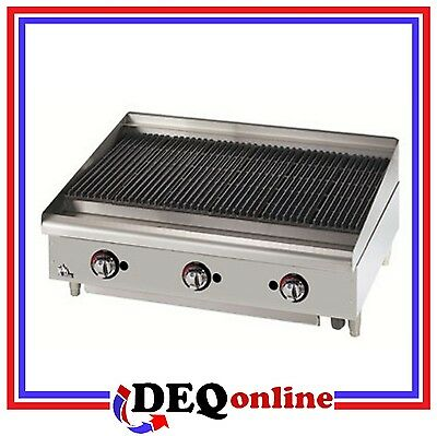 Star 6036cbf Star-max 36 Heavy Duty Lava Rock Gas Char-broiler