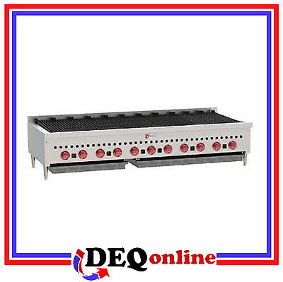 Wolf Scb60 Counter Model Gas Charbroiler 60 Wide Stainless Steel Ng Or Lp