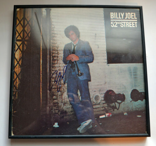 AUTHENTIC Billy Joel In-person Signed 52ND STREET Album Vinyl 2014 West Palm