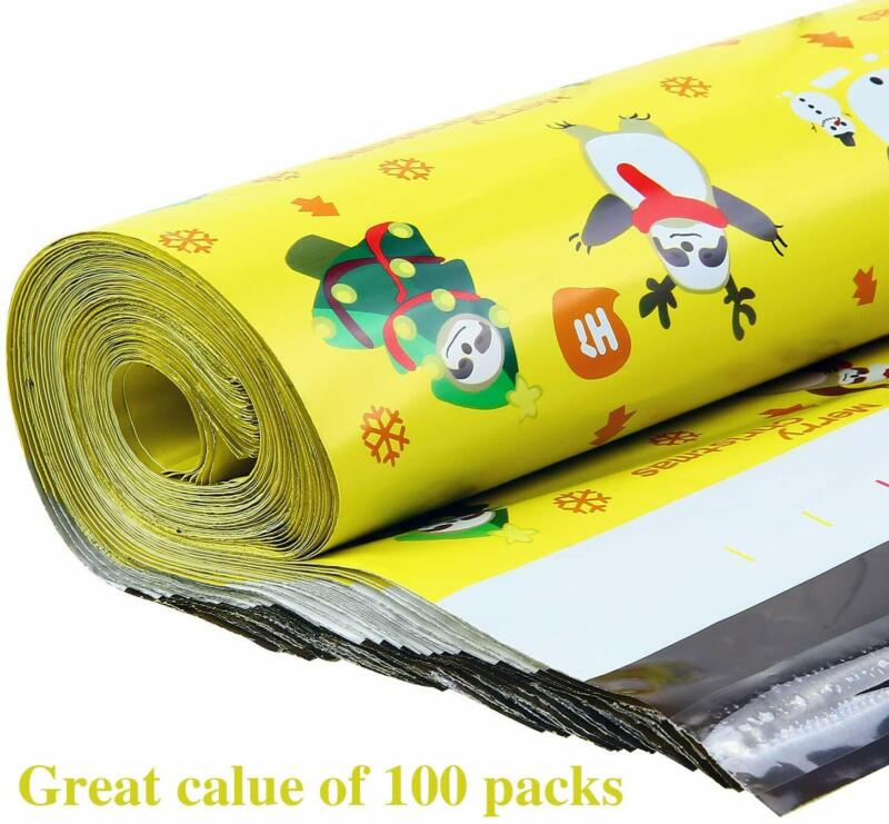 200 Pcs 10 x 13 Mailers Shipping Envelopes Self Sealing Plastic Mailing Bag