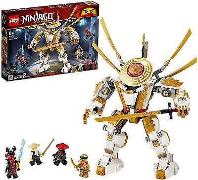 LEGO71702NINJAGOLegacyGoldenMechActionFigwithLloyd,Wu& GeneralKozu