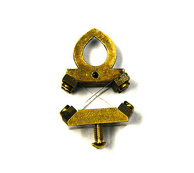 """Brass Suspension Spring System For Ansonia 4"""" Ball Swing Clock"""