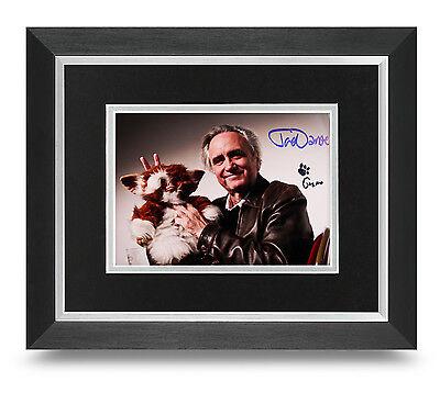 Joe Dante Signed 10x8 Photo Framed Gremlins Memorabilia Autograph COA