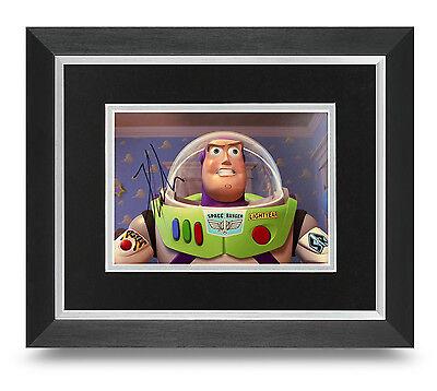Tim Allen Signed 10x8 Photo Framed Buzz Lightyear Memorabilia Autograph COA