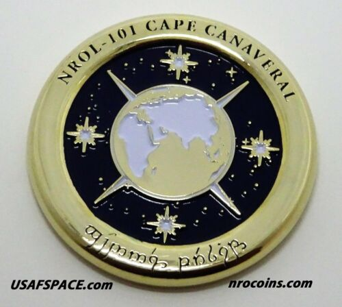 NROL-101 ATLAS V CCAFS Launch USAF USSF NRO CLASSIFIED SATELLITE Mission COIN