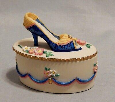 Willow Hall Shoe Trinket Box Rachel