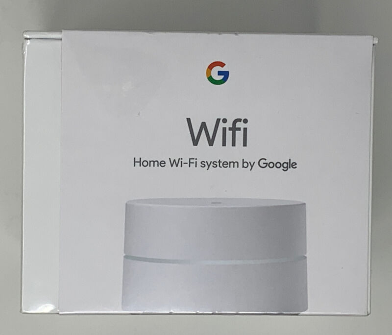 Google Wifi AC1200 Dual-Band Mesh Wi-Fi Router - White - BRAND NEW & SEALED!!