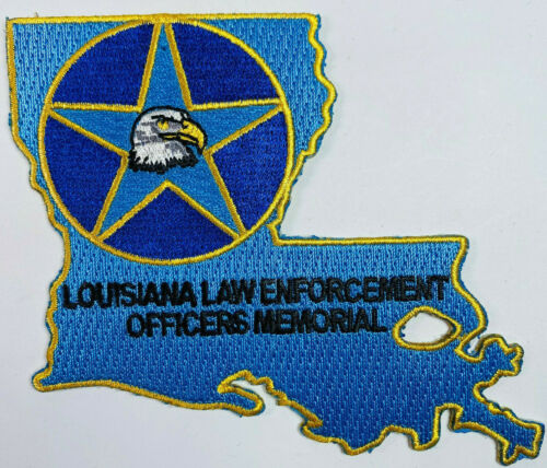 Louisiana Law Enforcement Officers Memorial Patch