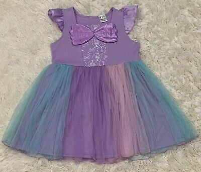 New Ariel Mermaid Boutique Dress 3T Toddler 3 Party Disney Costume Princess Girl