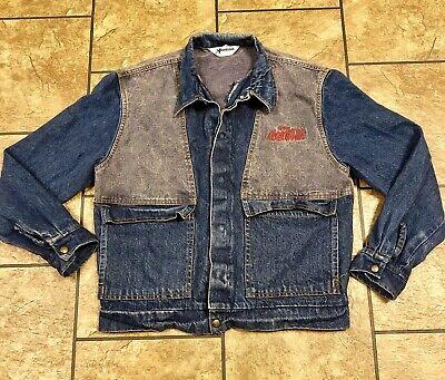 Vintage Men's Horizon Sportswear Coca Cola Jean Jacket Size L Made In USA  80's