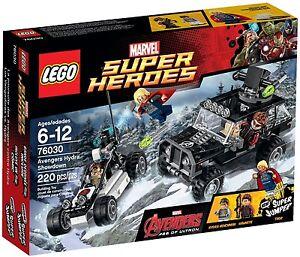*FREE POST*- NEW - LEGO Avengers Hydra Showdown Marvel Super Heroes 76030 - Thor