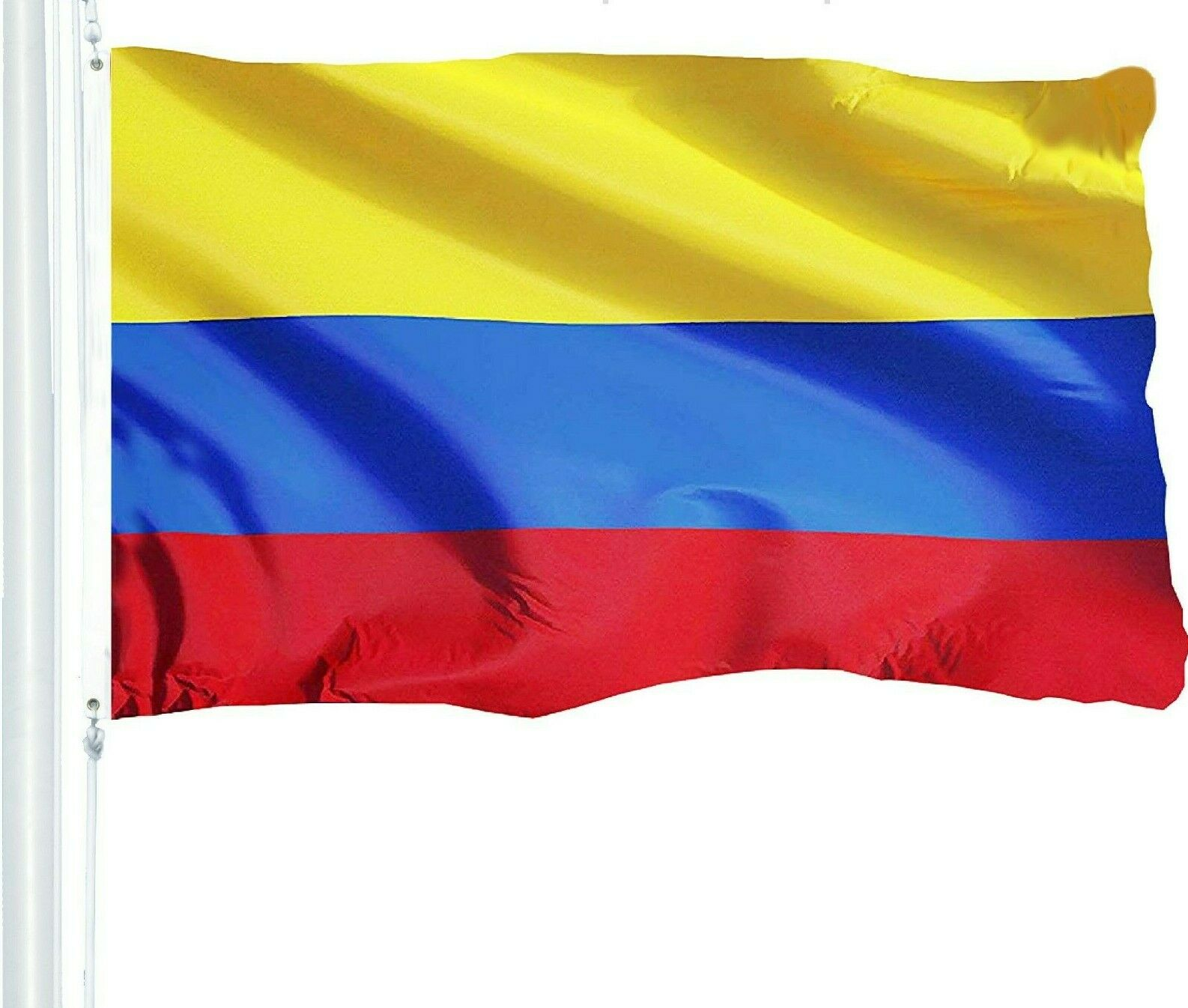 G128 -3x5ft Colombian Colombia Flag South American 150D poly