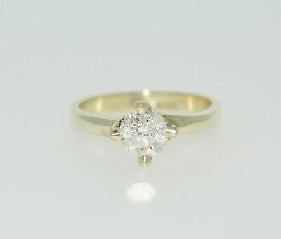 Diamond Engagement Ring. 0.33 Carat authentic diamond