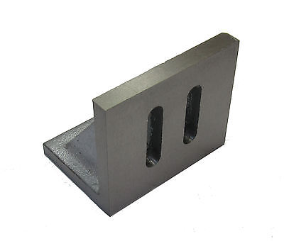 """RDGTOOLS PRECISION MACHINE ANGLE PLATE 3-1/2"""" X 3"""" X 2-1/2"""" MILLING LATHES for sale  Shipping to Nigeria"""