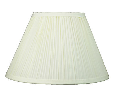 "Urbanest Coolie Mushroom Pleated Lampshade,8""x16""x10"",Faux S"