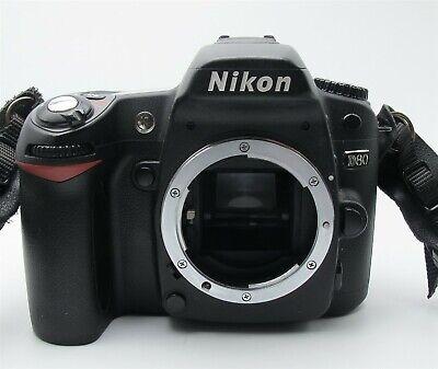 Nikon D80 10.2MP Digital SLR Camera Body Only Very Nice