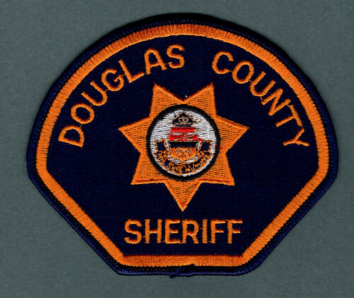 Douglas County Colorado Sheriff Police Patch