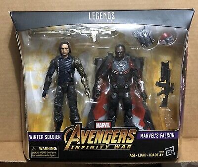 Marvel Legends MOVIE FALCON Loose Complete Avengers Infinity War Target 2 Pack