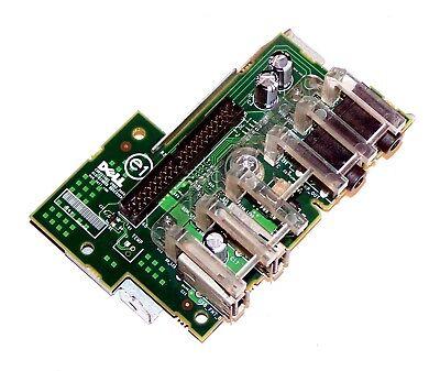 Dell Optiplex 745 755 Desktop Power Button Switch Board USB i/o HJ318 0HJ318 (Button Desktop)