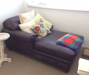 Leather Chaise Lounge - Gorgeous & super comfy Terrigal Gosford Area Preview