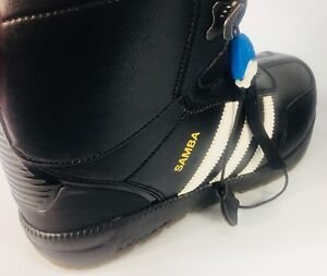 Snowboard with style Adidas Samba boots NEW 50% off