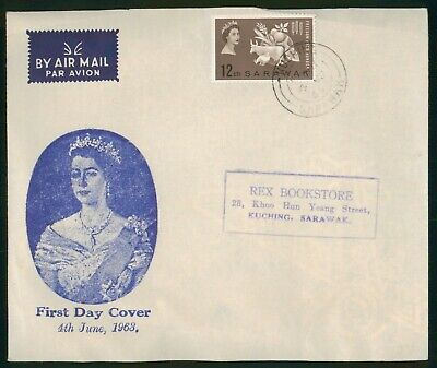 Mayfairstamps Sarawak 1963 Freedom From Hunger First Day Cover wwo1751