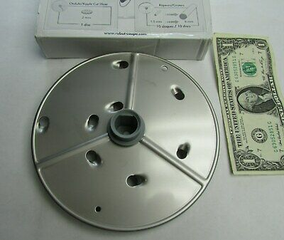 New Robot Coupe Extra Coarse Stainless Steel Grating Disc 9 Mm 1132 R301 27632