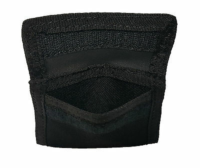 Latex Glove Pouch Black - Police Firefighter EMS Paramedic Medical Glove Holder