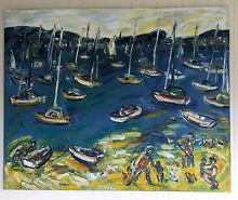 Nada Herman painting Mosman Mosman Area Preview