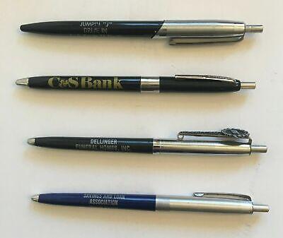 4 Vintage Advertising Pens -Winchester VA - Mt. Jackson VA - Jumpin J's (1000173