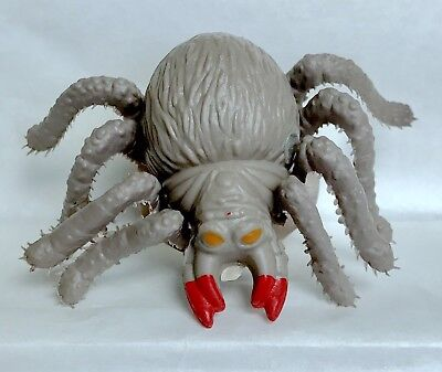 Vintage 1990 Topps Spider Bites Tarantula Candy Container Bubble Gum Fleer Gray