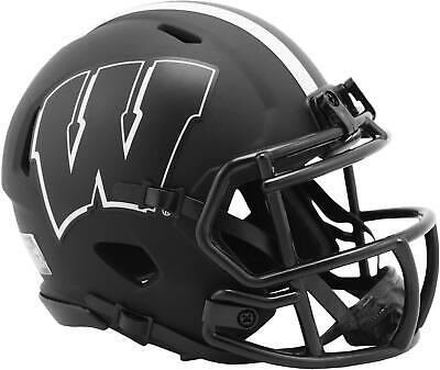 Wisconsin Badgers Riddell Eclipse Alternate Speed Mini Helmet