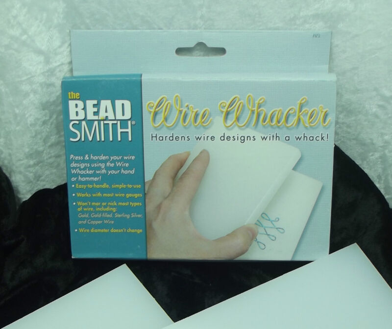 BEADSMITH WIRE WACKER Plastic Hardener Flattener For Wrapping Sculpting Tools