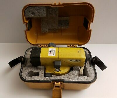Topcon At-b4 Automatic Level 24 X Power Leica Trimble Total Station
