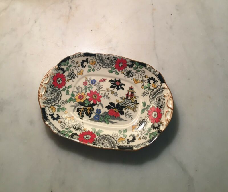"Coalport Kings Ware Canton China: 8"" x 5.5"" plate"