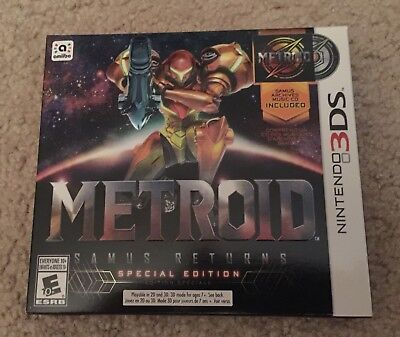 Metroid  Samus Returns   Special Edition  3Ds   Brand New