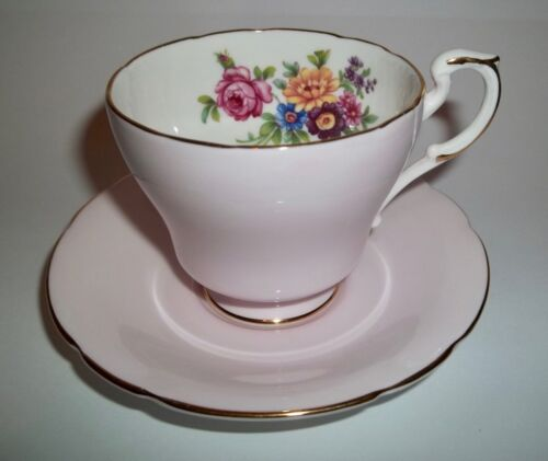 Paragon DEMITASSE CUP AND SAUCER Pink Floral