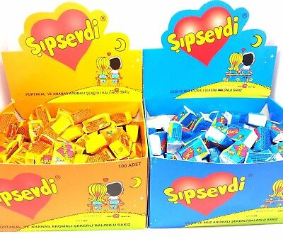 (LOVE IS BUBBLE CHEWING GUM VALENTINE GIFT BIRTHDAY COMICS - CHOOSE YOUR FLAVOR)