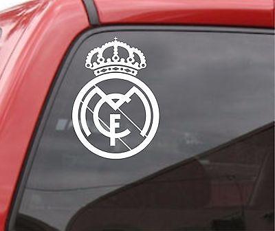 REAL MADRID Vinyl Decal Car Truck Window STICKER Futbol Soccer Spanish