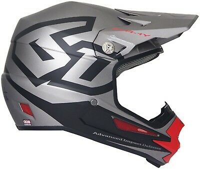 6D ATR-1Y Macro Youth Full Face Helmet: Titanium SM for sale  Shipping to India