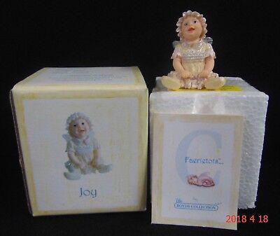 2003 Boyd's Faeriessence Faerietots Baby Fairy JOY #36264 1st Edition