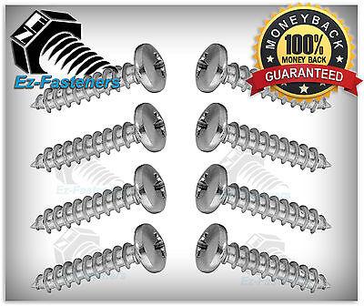 Sheet Metal Screws Pan Head Phillips Drive 10 X 1 Stainless Steel Qty 100