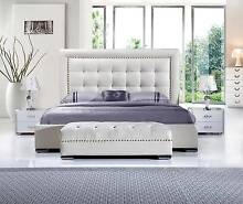 Brand new modern leather bed ZARA Hoppers Crossing Wyndham Area Preview