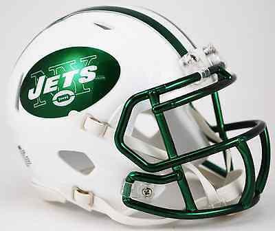 (NEW YORK JETS NFL Riddell SPEED Mini Football Helmet 2015 COLOR RUSH)