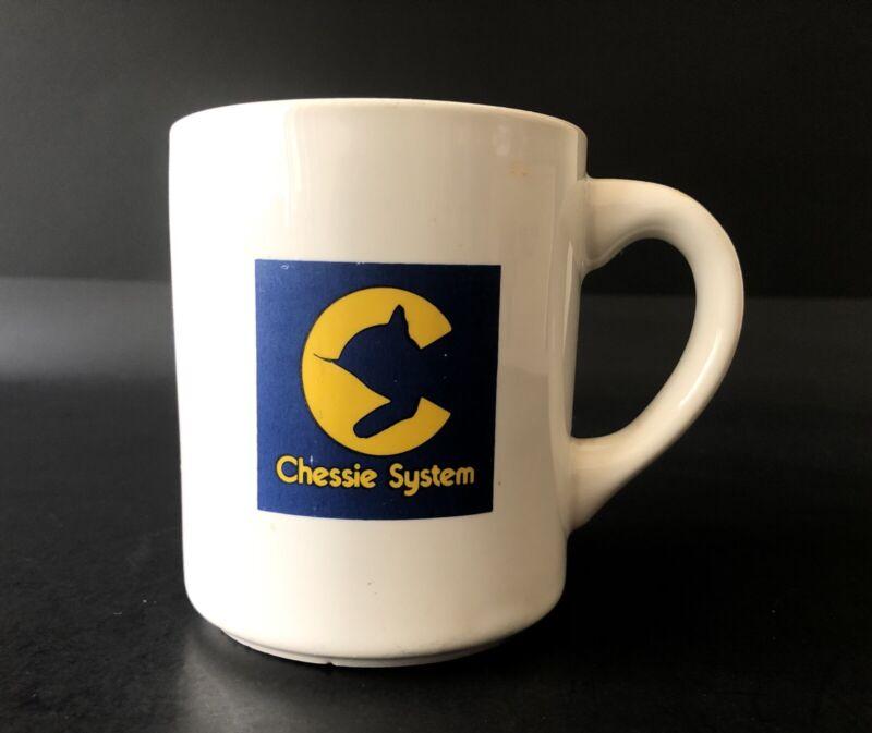 Vintage Whistlestop Chessie System Railroad Mug