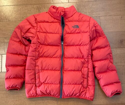 The North Face Kids Boys Red Goose Down 550 Jacket Large 14/16