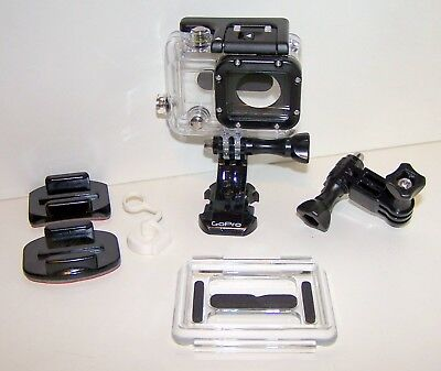 Gopro HD HERO4 Black Hero3+Waterproof Dive Housing Underwater Case 60m 190' WS