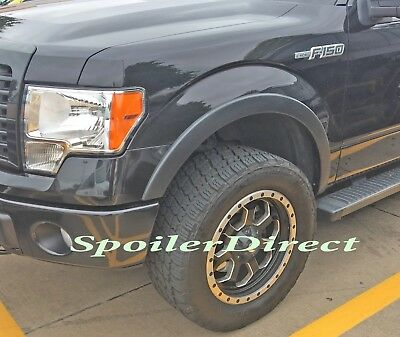 FACTORY STYLE FENDER FLARES FOR 2009 2010 2011 2012 2013 FORD F150 - OE TEXTURED