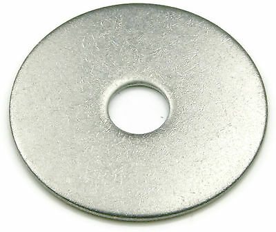 Stainless Steel Fender Washer 3/8 x 1, Qty 100
