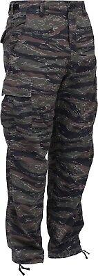 Tiger Stripe Camouflage Military BDU Cargo Bottoms Fatigue Trouser Camo - Camo Military Bdu Pants